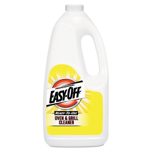 Professional EASY-OFF® Ready-to-Use Oven and Grill Cleaner, Liquid, 2qt Bottle