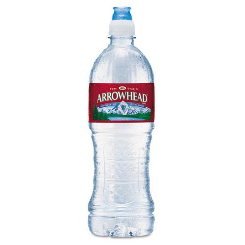 Arrowhead® Natural Spring Water, 23.6 oz Bottle, 24 Bottles/Carton