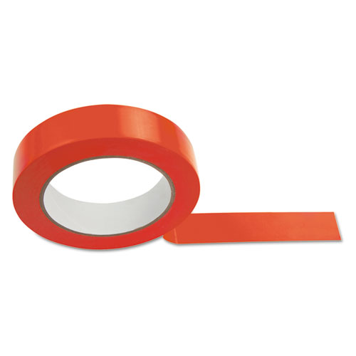 Floor Tape, 1 x 36 yds, Red