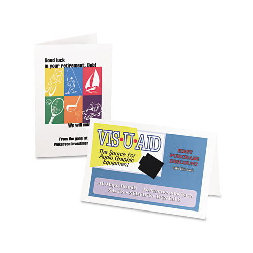 Avery 8316 Half-Fold Greeting Cards, Inkjet, 5 1/2 X 8 1/2