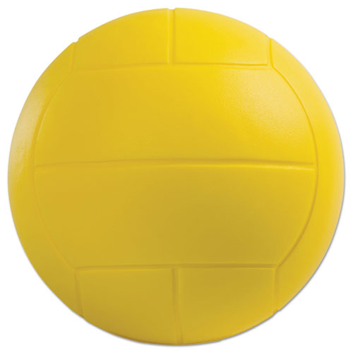 Coated Foam Sport Ball, Volleyball, Yellow VFC