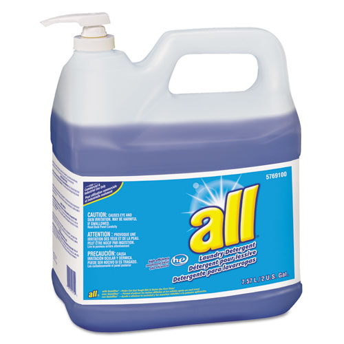 All® HE Liquid Laundry Detergent, Original Scent, 64 oz. Bottle, 4/Carton
