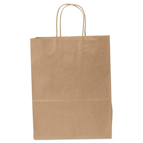 Shopping Bags, 10 x 13, Kraft, 250/Carton