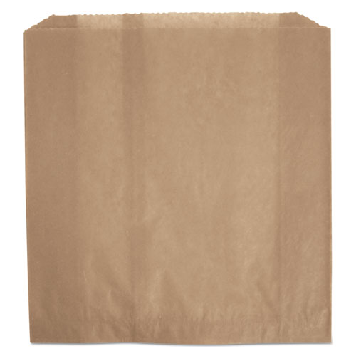Waxed Napkin Receptacle Liners, 2.75 x 8.5, Brown, 250/Carton