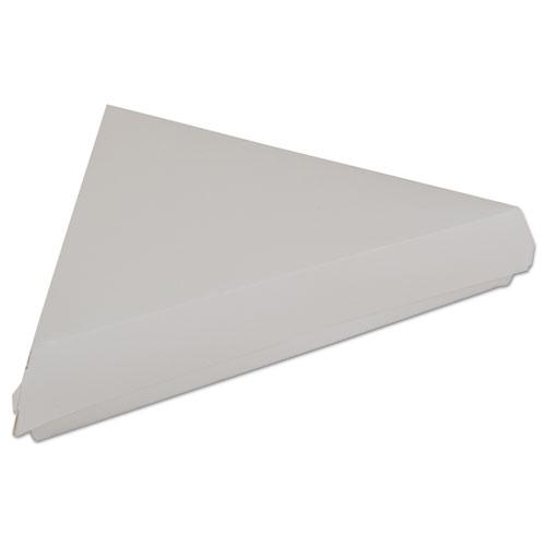 Lock-Corner Pizza Boxes, Cardboard, For 8 Slices, White, 400/Carton