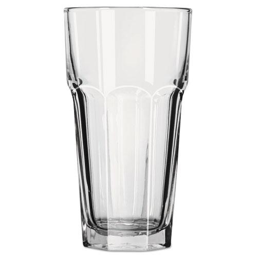 Gibraltar Glass Tumblers, 22 oz, Clear, Iced Tea Glass, 24/Carton 15253