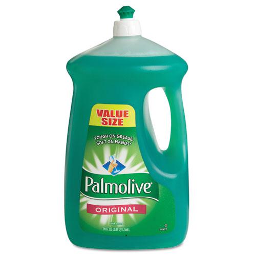 Dishwashing Liquid, Original Scent, Green, 90oz Bottle, 4/Carton