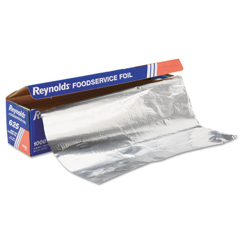 Heavy Duty Aluminum Foil Roll, 18 x 1000 ft, Silver