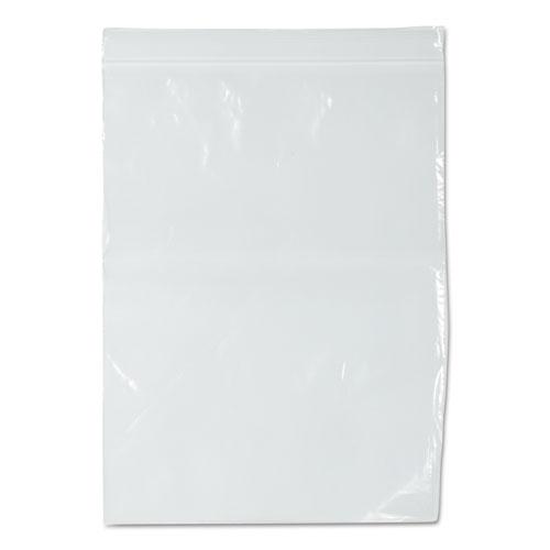 Zippit Resealable Bags, 2 mil, 9 x 12, Clear, 1,000/Carton