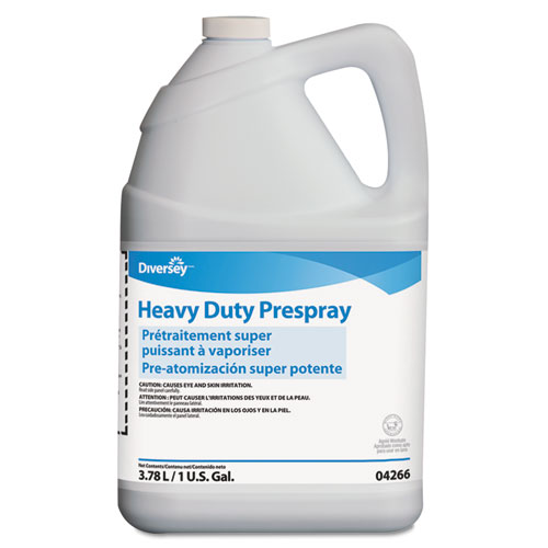 Diversey™ Carpet Cleanser Heavy-Duty Prespray, 1gal Bottle, Fruity Scent, 4/Carton