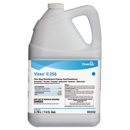 Virex II 256 One-Step Disinfectant Cleaner Deodorant Mint, 1 gal, 4 Bottles/CT