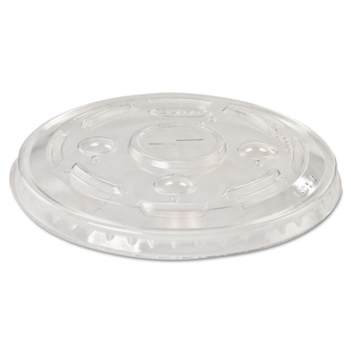 Cold Cup Lid, For 16 Oz, Clear, Pk 1000 L24C