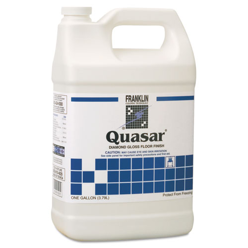 Quasar High Solids Floor Finish, Liquid, 1 gal. Bottle