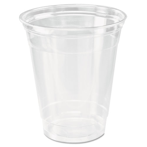 Ultra Clear Cups, Practical Fill, 12-14 oz, PET, 50/Bag, 1000/Carton | by Plexsupply