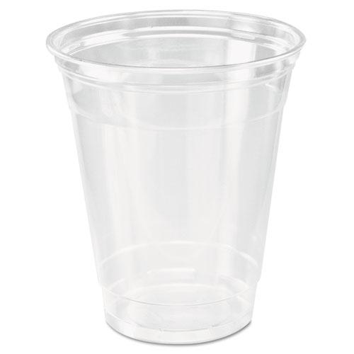 Dart® Ultra Clear Cups, Squat, 12-14 oz, PET, 50/Bag, 1000/Carton