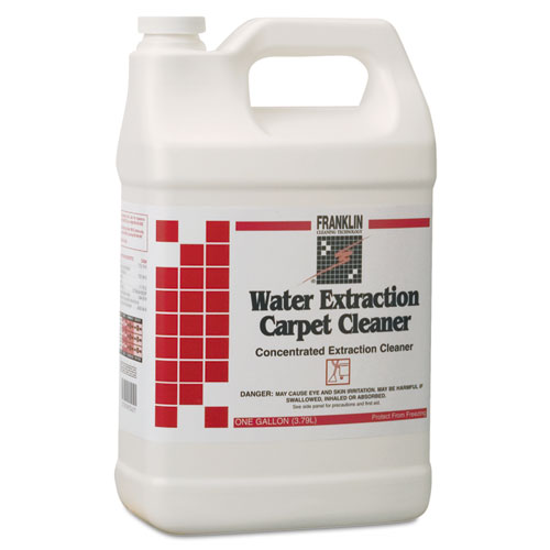 Water Extraction Carpet Cleaner, Floral Scent, Liquid, 1 gal. Bottle | by Plexsupply