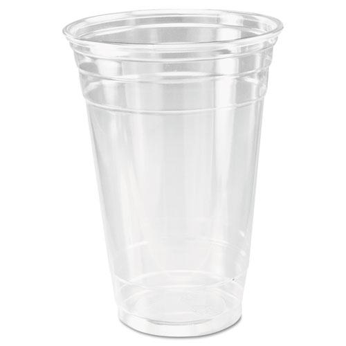 Dart® Ultra Clear Cups, 20 oz, PET, 50/Bag, 600/Carton