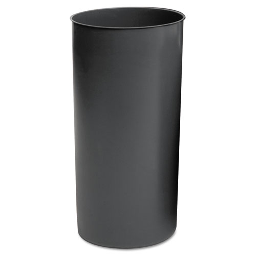 Rubbermaid® Commercial Rigid Liner, Cylindrical, Plastic, 12 1/8 gal, Gray