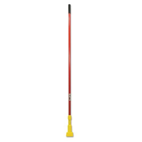 Gripper Fiberglass Mop Handle, 60, Red/Yellow