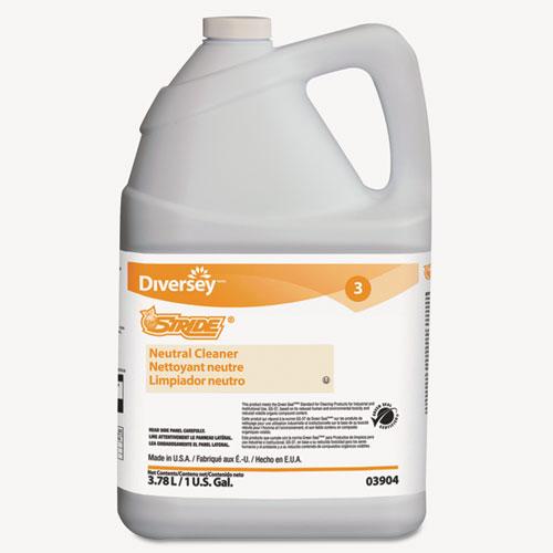 Stride Neutral Cleaner, Citrus, 1 gal, 4 Bottles/Carton