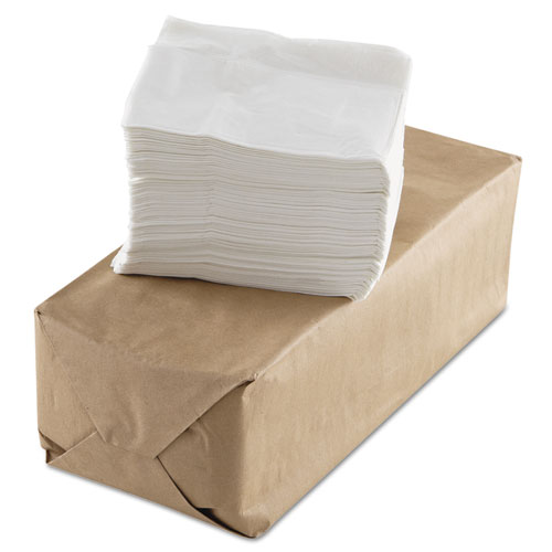 Tall-Fold Napkins, 1-Ply, White, Paper, 10000/Carton