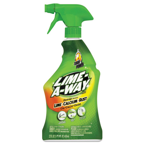 Lime, Calcium and Rust Remover, 22oz Spray Bottle