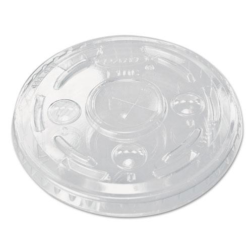 Plastic Cold Cup Lids, Clear, 1000/Carton 610TS