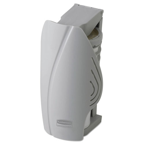 "Rubbermaid® Commercial TCell Dispenser, 4.09"" Diameter x 2.36"", Black"