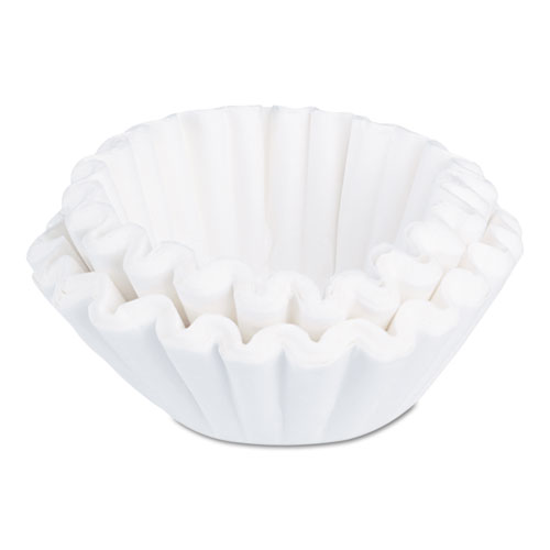 BUNN® Flat Bottom Funnel Shaped Filters, for BUNN Sys III Brewer, 252/PK, 2 Packs/CT