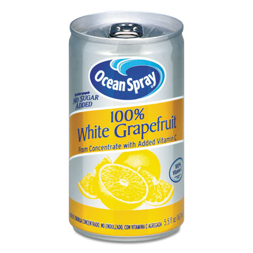 100 Juice, White Grapefruit, 5 1/2 oz Can