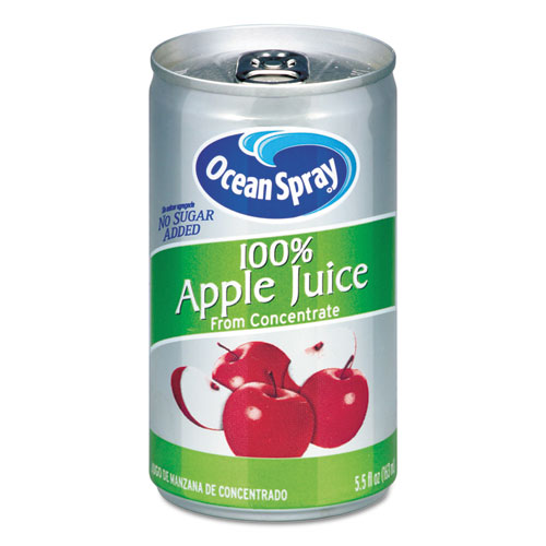 100 Juice, Apple, 5.5 oz Can