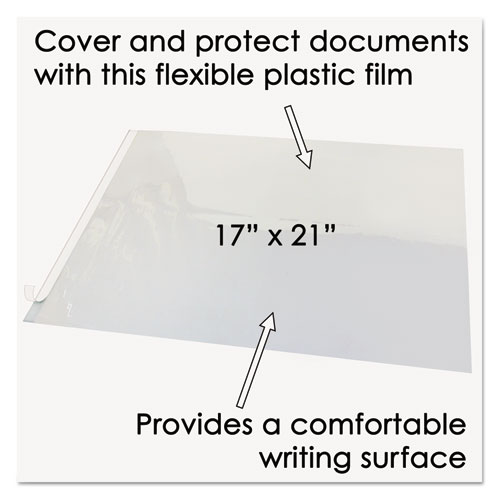 Second Sight Clear Plastic Hinged Desk Protector 21 X 17