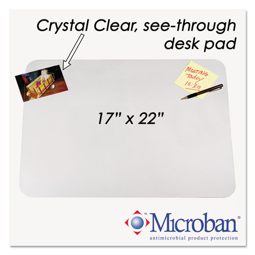 Aop6070ms Artistic Krystalview Desk Pad With Microban Zuma