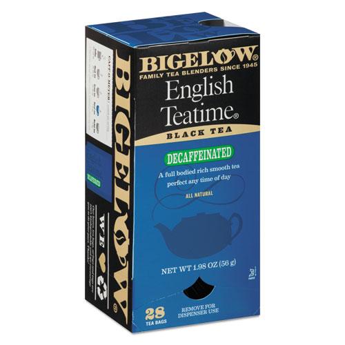 Single Flavor Tea Decaf, English Teatime, 28/Box