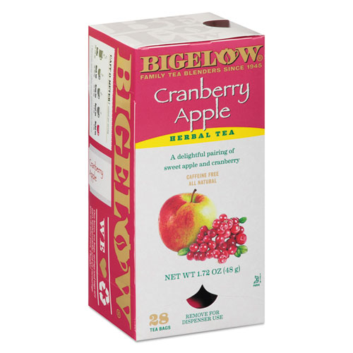 Cranberry Apple Herbal Tea, 28/Box