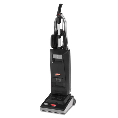 "Rubbermaid® Commercial Executive Series Automatic Power Height Upright Vacuum, 46""H, 12""W, 40ft Cord RCP1868438"