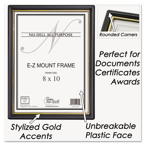 nud11800 nudell ez mount document frame accent zuma. Black Bedroom Furniture Sets. Home Design Ideas