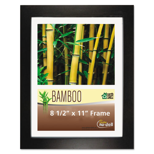 Bamboo Frame 8 12 X 11 Black Ram Discount Computer Supplies
