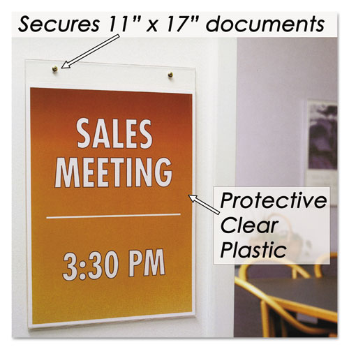 Nud38017z Nudell Clear Plastic Sign Holder Zuma
