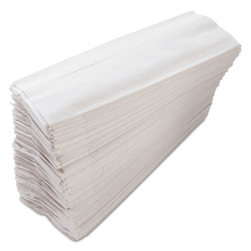 Morcon Tissue Morsoft C-Fold Paper Towels, 11 x 10.13, White, 200 Towels/Pack, 12 Packs/Carton, 2,400 Towels/Carton