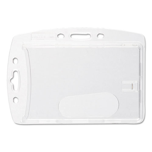 Replacement Card Holder, Vertical/Horizontal, Polystyrene, 10/Pack | by Plexsupply