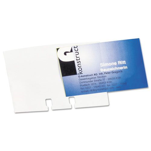 visifix double sided business card sleeves 40pack - Business Card Sleeves