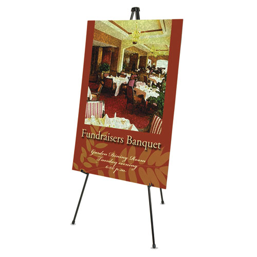 Quartet 174 Heavy Duty Instant Easel 174 63 Quot Supports 10 Lbs