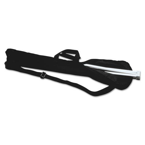 Display Easel Carrying Case, 38 1/5w x 1 1/2d x 6 1/2h, Nylon, Black | by Plexsupply