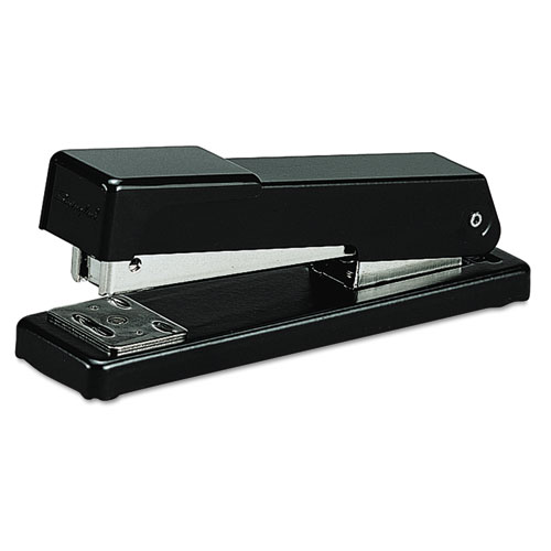 Compact Desk Stapler, 20-Sheet Capacity, Black | by Plexsupply
