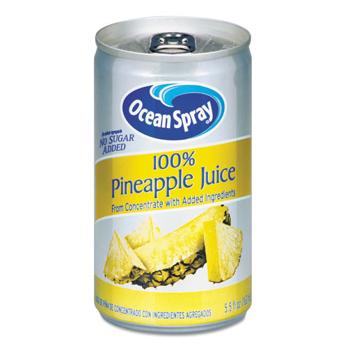 100 Juice, Pineapple, 5.5 oz Can