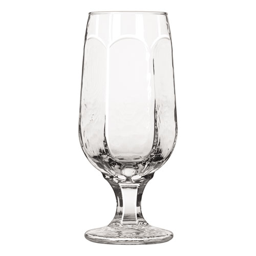 """Libbey Chivalry Pedestal Glasses, Beer, 12oz, 7"""" Tall, 36/Carton"""