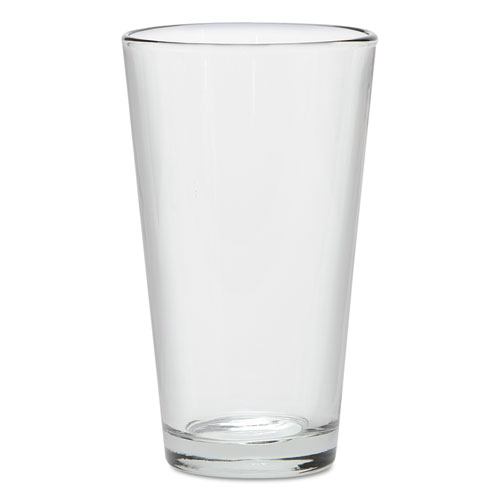 """Mixing Glass, 16oz, Clear, 5 7/8"""" H, 3 1/4"""" D"""