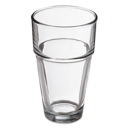Stackables Cooler Glasses, 16oz, Clear, 36/Carton 73017