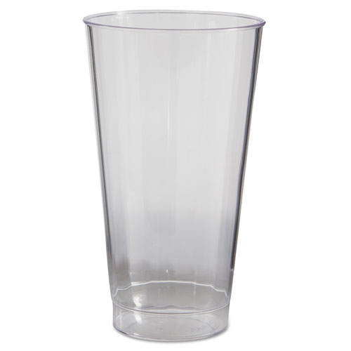 Classic Crystal Tumblers, 16 oz, Clear, Fluted, Tall, 20/Pack, 240/Carton CC16240